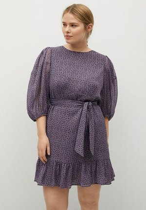 LILI - Korte jurk - lila