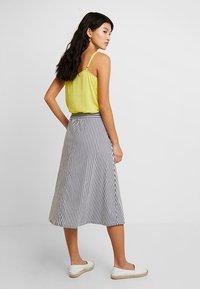 Betty & Co - A-line skirt - white/blue - 2