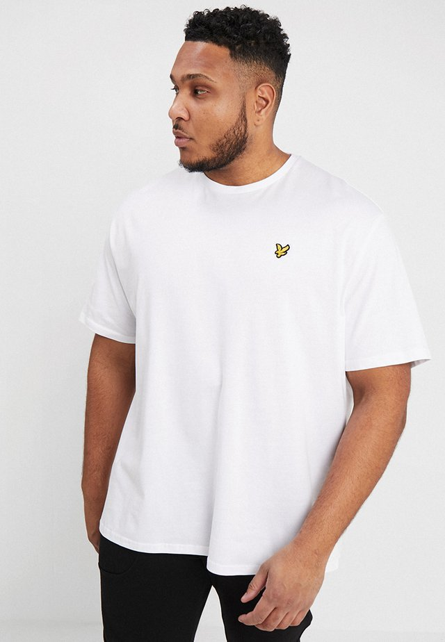 CREW NECK - Jednoduché triko - white
