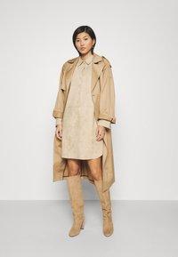 Opus - WESA - Shirt dress - macadamia - 1
