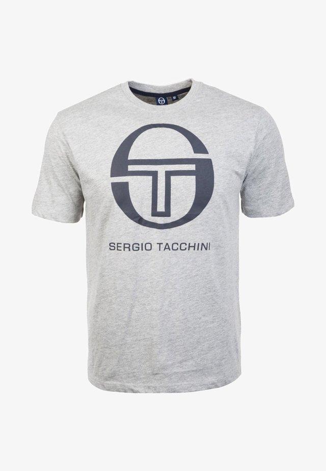 IBERIS  - Print T-shirt - grey melange