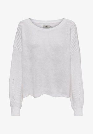 ONLHILDE - Jumper - white