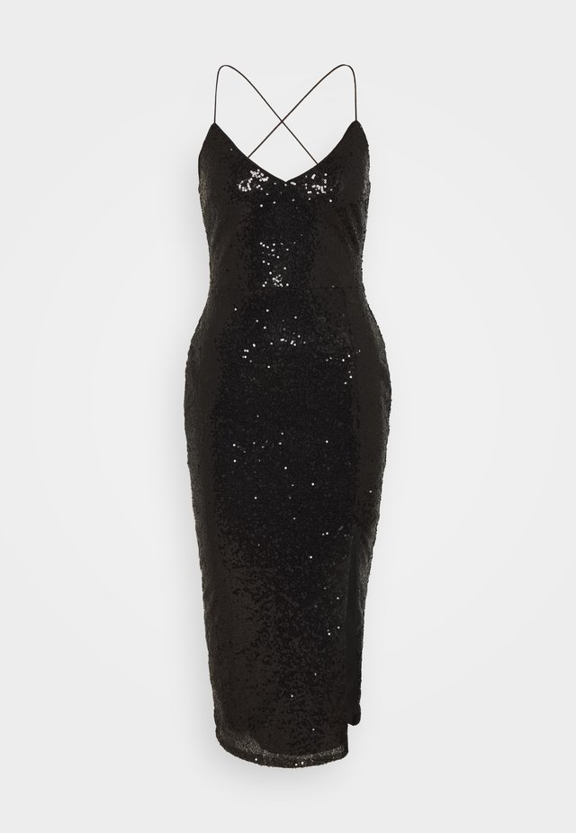 OWN IT SLIP DRESS - Cocktailkjoler / festkjoler - black