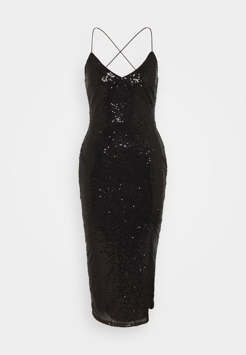 Nly by Nelly - OWN IT SLIP DRESS - Cocktailkjole - black
