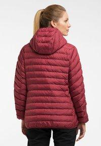 Haglöfs - SÄRNA MIMIC HOOD - Winter jacket - brick red - 1