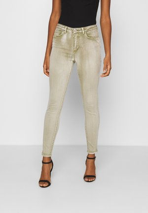 VIAMY PIGMENT DYE - Jeans Skinny Fit - green olive
