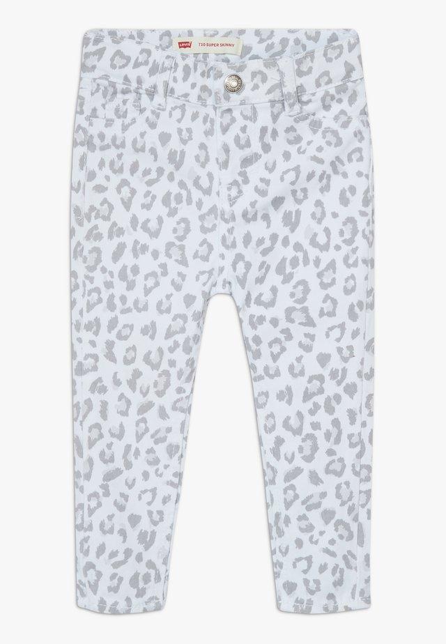 710 SUPER SKINNY - Jeans Skinny - white