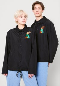 AS IF Clothing - CODA JACKET UNISEX - Light jacket - black - 0
