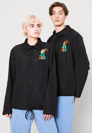 CODA JACKET UNISEX - Light jacket - black