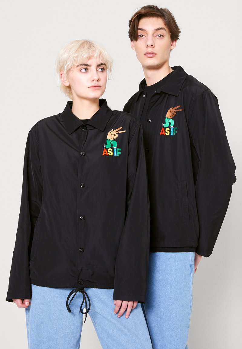 AS IF Clothing - CODA JACKET UNISEX - Light jacket - black