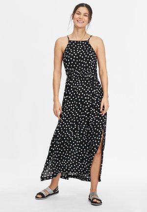 Maxi dress - black with white