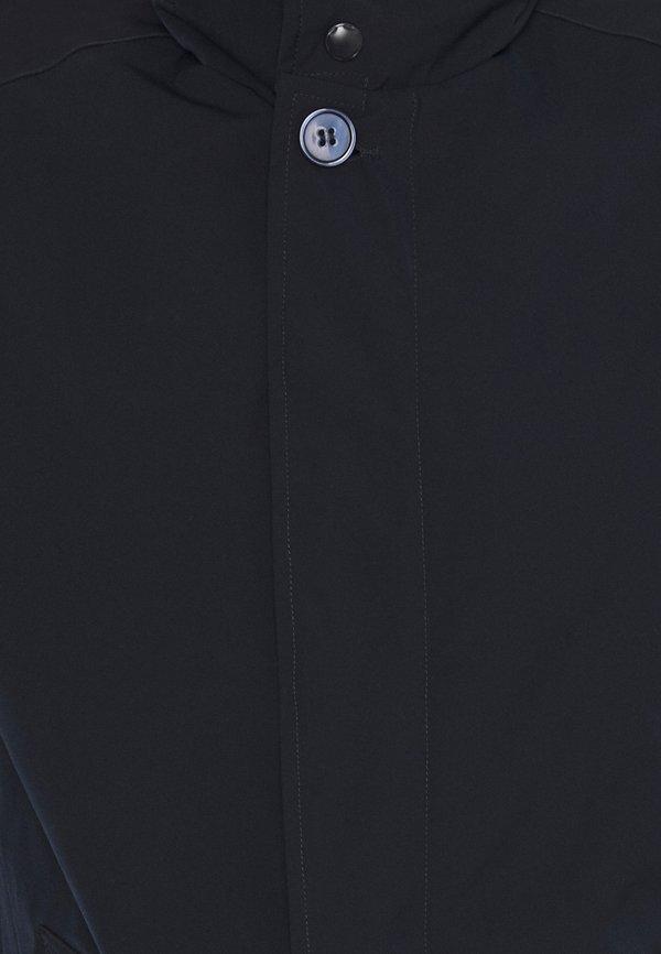 Bruun & Stengade AUGUSTIA - KrÓtki płaszcz - navy/granatowy Odzież Męska NVTH