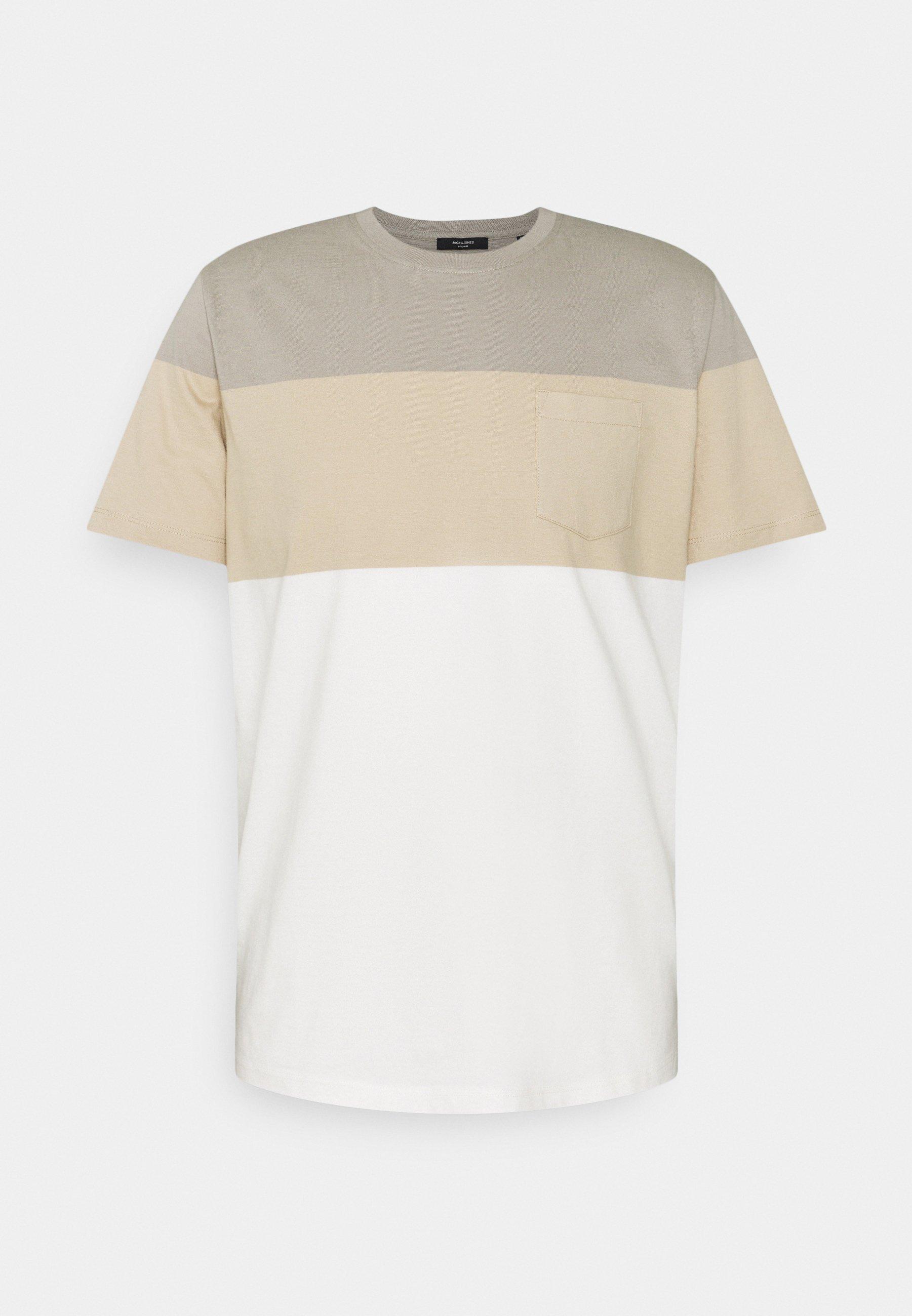 Uomo JPRBLAREPEAT TEE CREW NECK - T-shirt con stampa