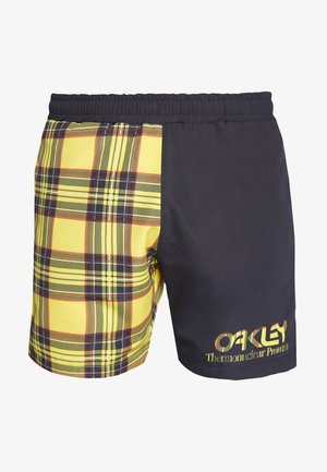 TARTAN - Shorts - yellow