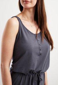 Object - OBJSTEPHANIE MAXI DRESS  - Maxi dress - asphalt - 3