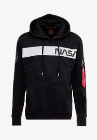 Alpha Industries - NASA HOODY - Hoodie - black - 4