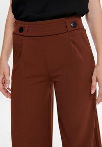 JDY - JRS NOOS - Trousers - brown - 3