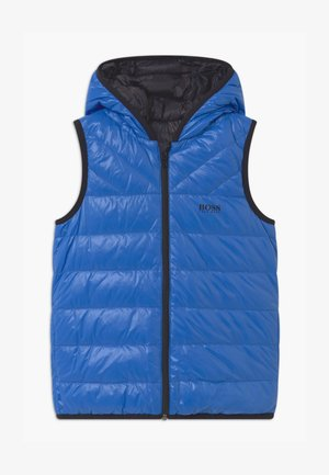 REVERSIBLE PUFFER - Vesta - blue/black