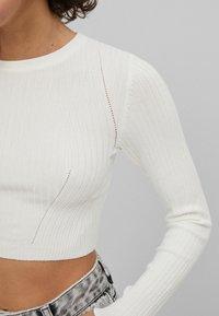 Bershka - Pullover - white - 3