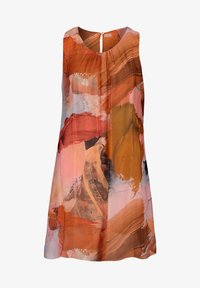 Cartoon - Day dress - patch orange/brown - 2