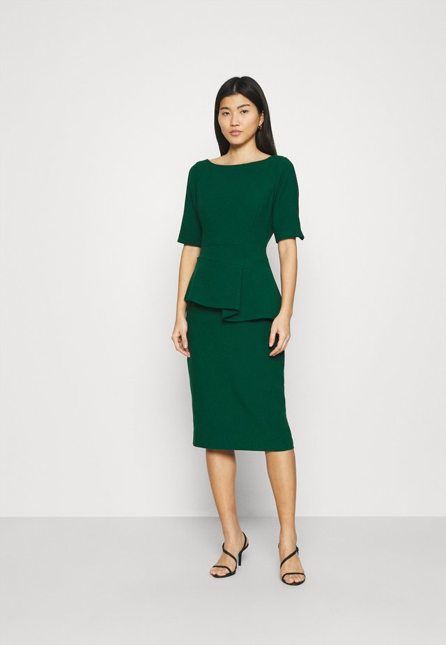 ROMOLAA - Shift dress - dark green
