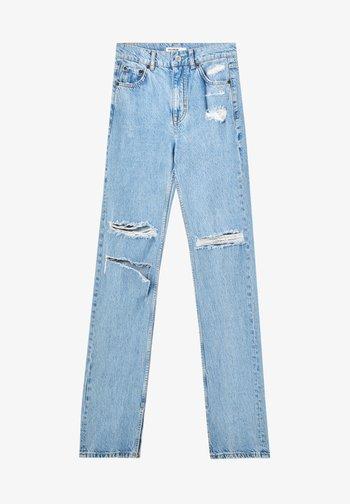 Džíny Straight Fit - blue