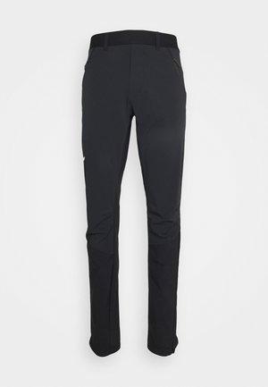 PEDROC - Outdoorové kalhoty - black out