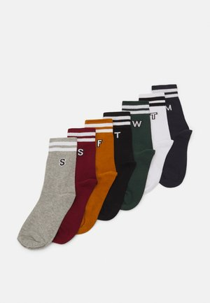 COLLEGE LETTER SOCKS 7 PACK - Sokken - multicolor