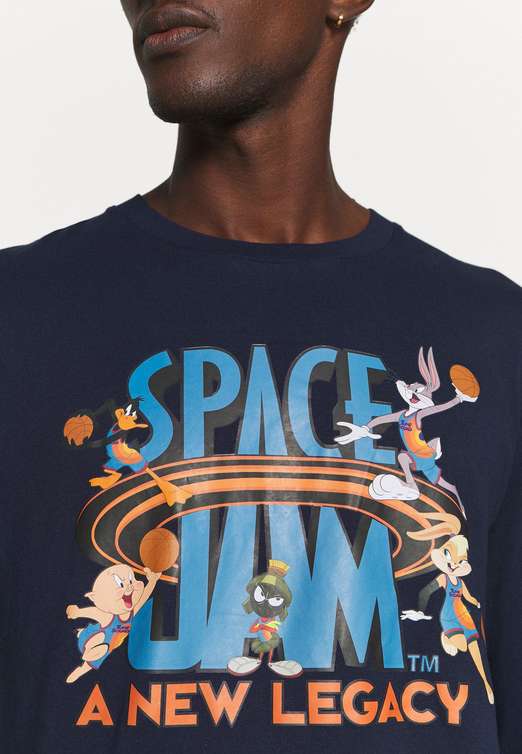 Men SPACE JAM 2 ALL IN LOGO TEE - Long sleeved top