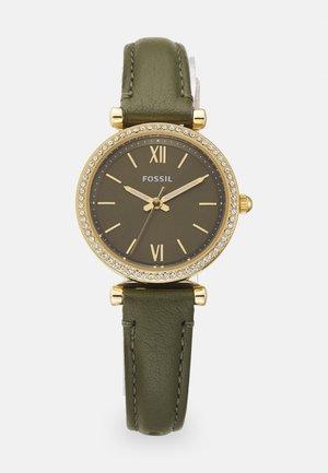 CARLIE MINI - Watch - olive