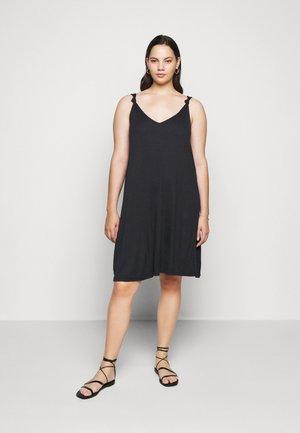 JRMAYSIN DRESS - Jersey dress - black iris