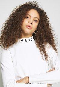 Missguided Petite - SKI BODY SUIT - Camiseta de manga larga - white - 3