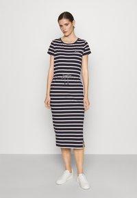 Barbour - BARBOUR BAYSIDE DRESS - Sukienka z dżerseju - navy - 0
