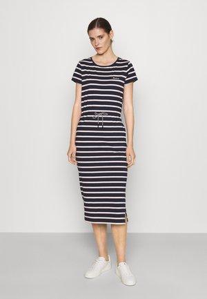 BARBOUR BAYSIDE DRESS - Sukienka z dżerseju - navy