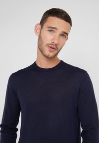 Hackett London - CREW - Strikpullover /Striktrøjer - midnight - 3