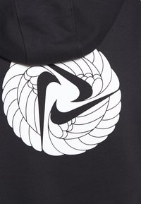 Nike Performance - W NK ICNCLSH DRY FLC PT TP GD - Hoodie - black/white - 6