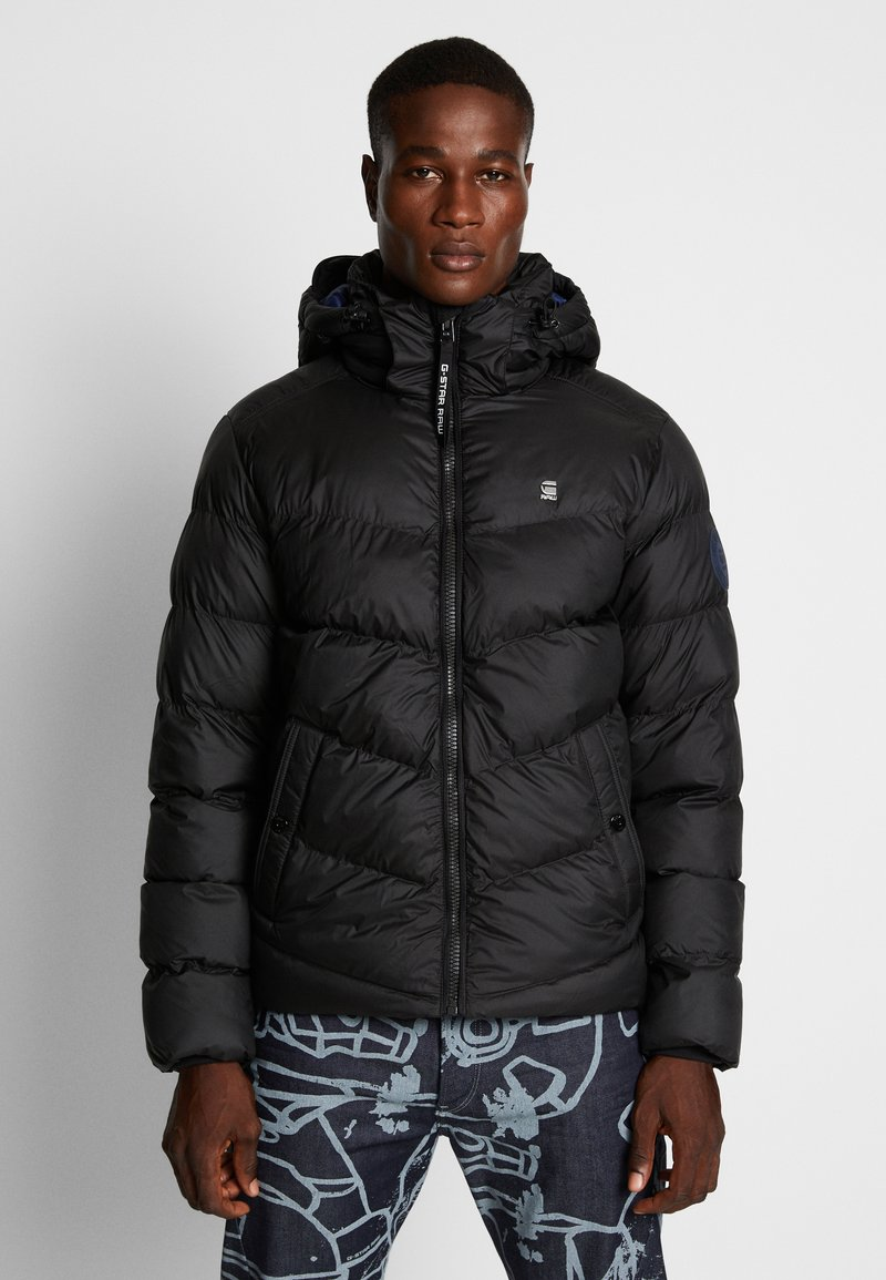 G-Star - WHISTLER PUFFER - Winter jacket - dark black