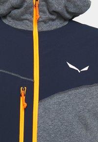 Salewa - PUEZ DRY HOOD - Outdoorová bunda - navy blazer melange - 2