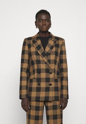 BROOK - Krátký kabát - sepia tint