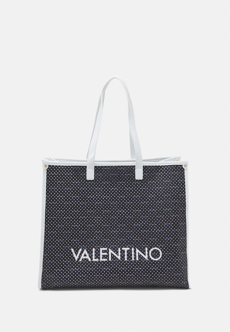 Valentino Bags - PRISCA SET - Tote bag - blue/bianco