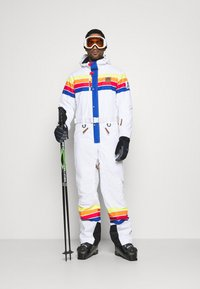 OOSC - RICKY BOBBY UNISEX FIT - Snow pants - white - 1
