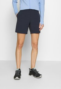 Jack Wolfskin - SHORTS - Outdoor trousers - night blue - 0
