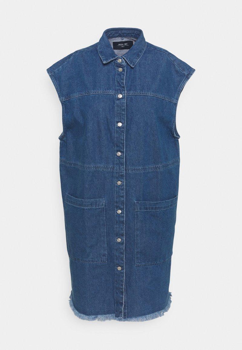 Noisy May - NMALMA DRESS  - Denim dress - medium blue denim