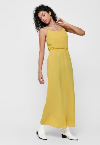Maxi dress - misted yellow