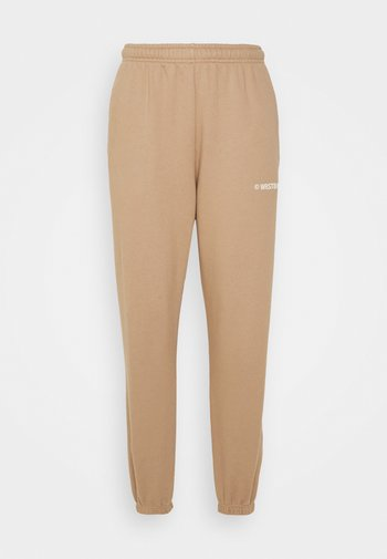 DARI PANTS - Träningsbyxor - warm grey