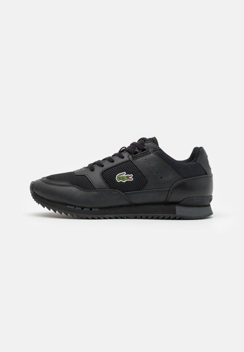 Lacoste - PARTNER PISTE - Sneakers - black/dark grey