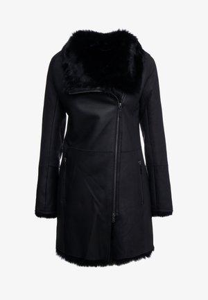 CLASSIC COAT - Wollmantel/klassischer Mantel - toscana black
