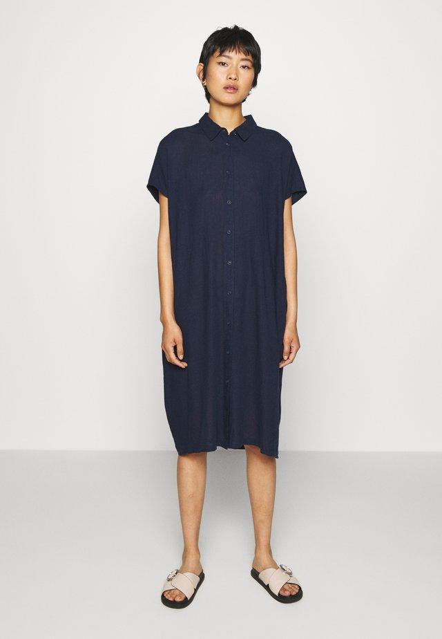 NELLA - Vestido camisero - dark blue