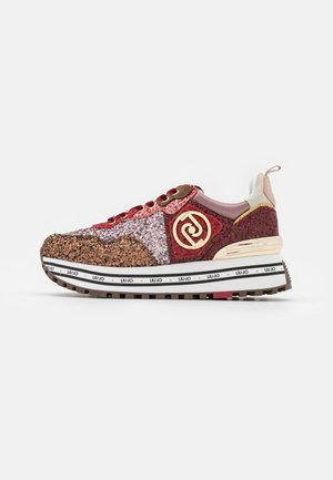 MAXI  - Trainers - brown/red