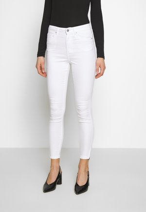 VMSOPHIA ZIP - Jeans Skinny Fit - bright white